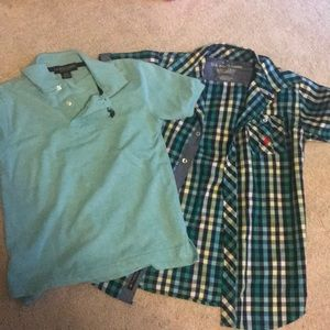 Other - Polo and short sleeve button up